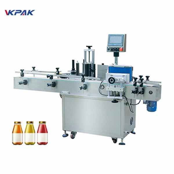 מכונת תיוג מדבקות בקבוקים עגולות למי שתייה 5L