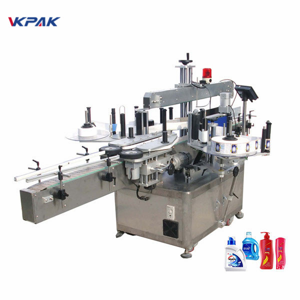 מכונת תיוג מדבקת תוויות אוטומטית מלאה בצד כפול