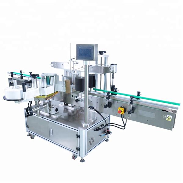 מכונת תיוג בקבוק עגול במהירות גבוהה למכלי מיכל לא סדירים