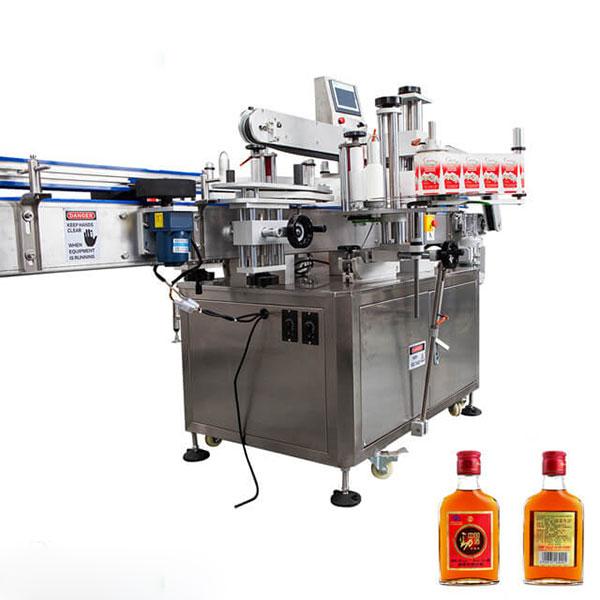 מכונת תיוג לכוסות ובקבוקים עגולים מקל אוטומטי מלא