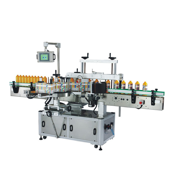 מכונת תיוג בקבוק פלסטיק Odm עם Plc ומסך מגע