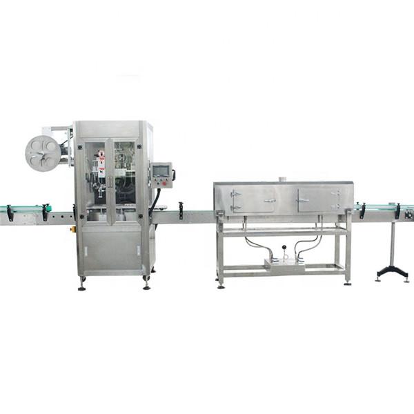 מכונת תיוג שרוול כיווץ במהירות גבוהה מפלסטיק עם מחולל קיטור