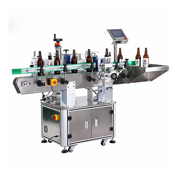 מכונת תיוג בקבוקי יין