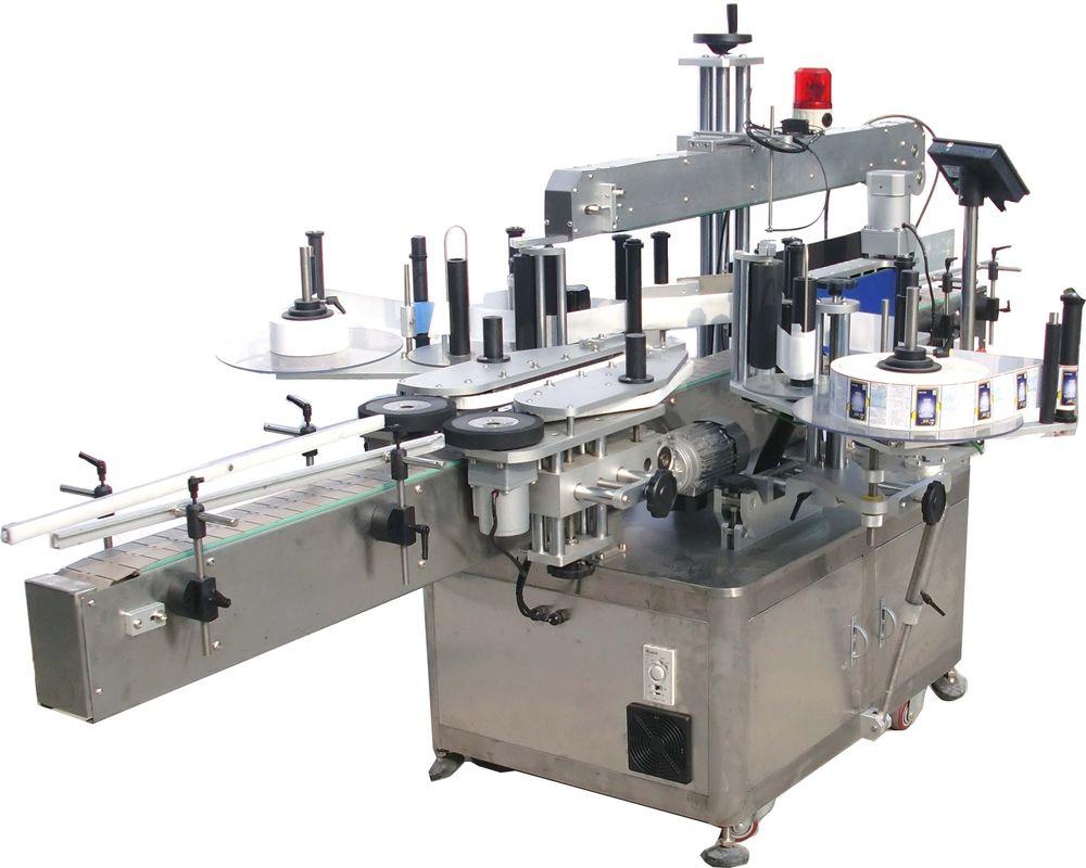 מכונת תיוג מדבקות שמן הידראולי בצד כפול במהירות גבוהה