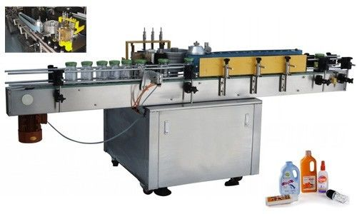מכונת יישום דבק קר אוטומטית לבקבוק עגול בהתאמה אישית
