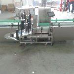 מכונת תווית אוטומטית של סימנס PLC בשליטה אוטומטית עם משטח אוסף