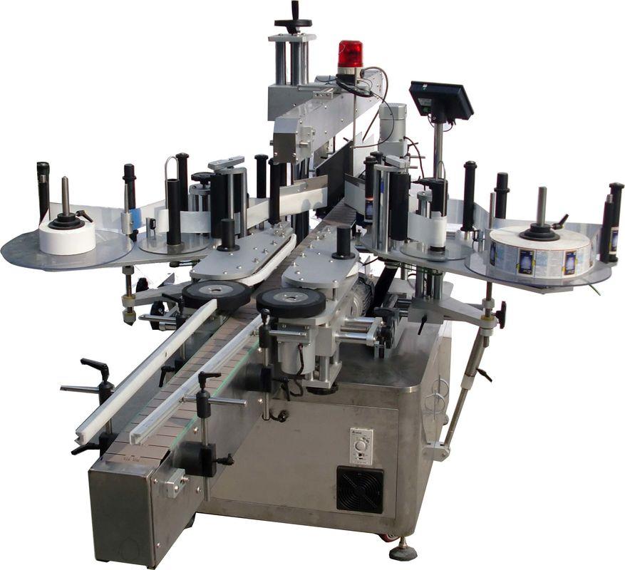 מכונת תיוג אוטומטית למשטח שטוח למפעל שקיות במהירות גבוהה