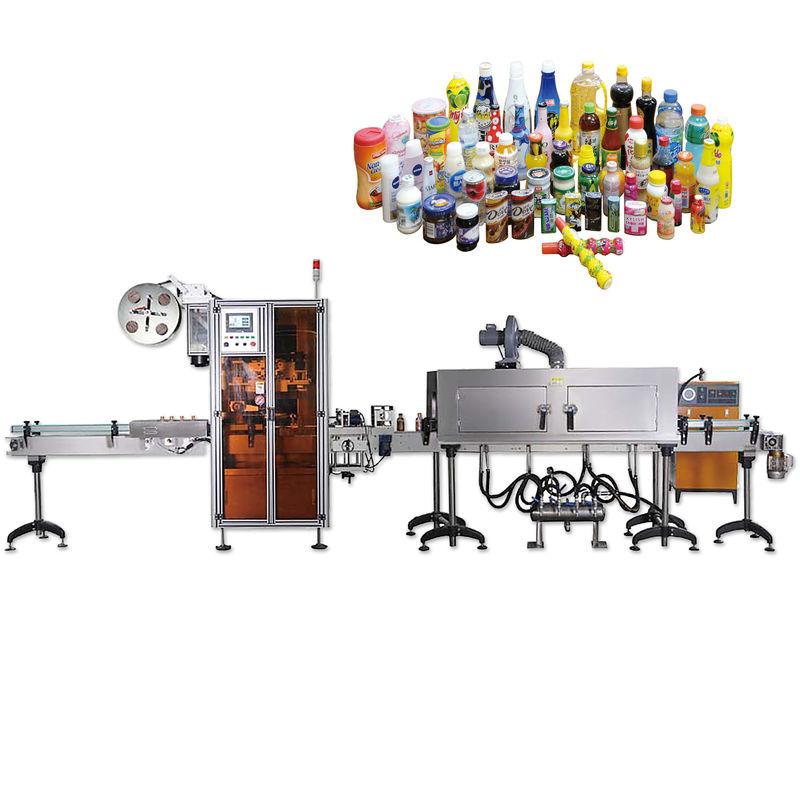 מכונות תוויות כיווץ בקבוקים בסך הכל עם תוחלת חיים ארוכה