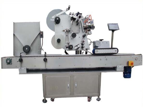 מכונת תיוג מול עגולה עם מכונת קידוד