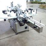 מכונת תיוג מדבקה אוטומטית עם שני צדדים עם צד קדמי ואחורי
