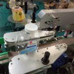 שני צדדים מכונת תוויות מדבקת בקבוקים מרובעת למוצרי טיפוח אישי