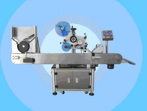 מכונת תוויות בקבוקון אוטומטית מכונת מדבקת תוויות לק לקוסמטיקה