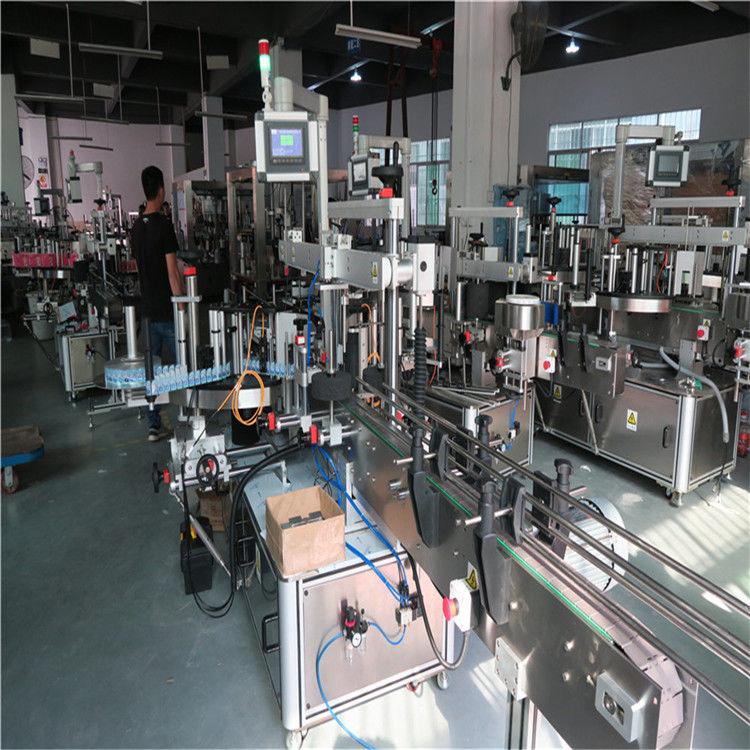 מכונת תיוג בקבוקי פלסטיק, שתיית מכונת תיוג לבקבוק מים מינרליים