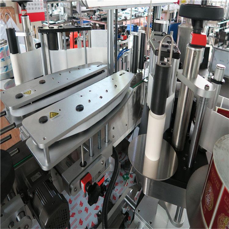 מכונת תיוג מדבקות אוטומטיות לחלוטין דבקות דו צדדיות