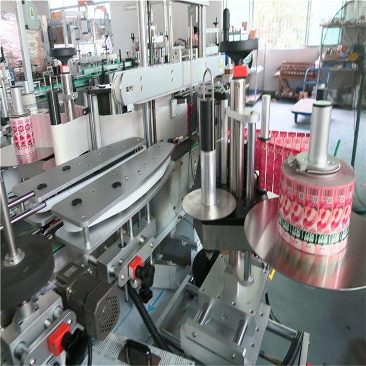 """מכונת תוויות מדבקה אוטומטית קדמית מאחור דבק עצמי 330 מ""""מ קוטר חיצוני מקסימלי"""
