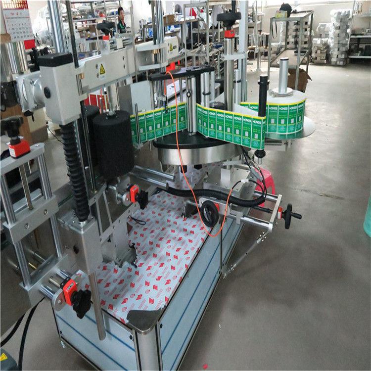 מכונת יישום תוויות במהירות גבוהה לתרופות / קוסמטיקה