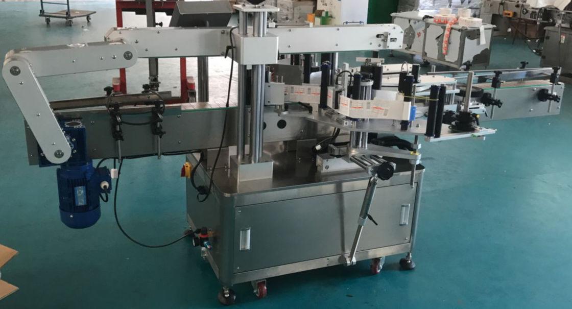 מכונת תיוג בקבוק זכוכית בקבוק שטוח אוטומטית, מכונת תווית מדבקה