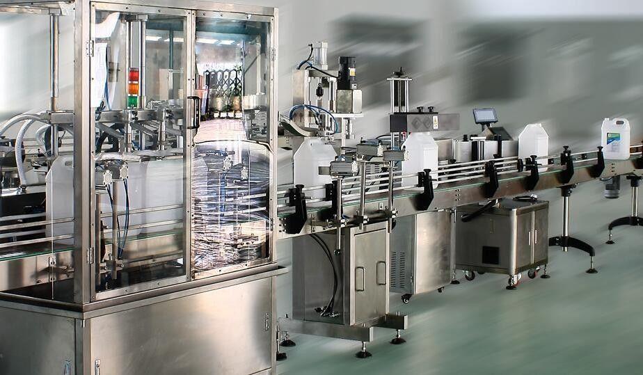 מדבקת תווית מדבקה צדדית כפולה במהירות גבוהה לבקבוקים עגולים / מרובעים / שטוחים