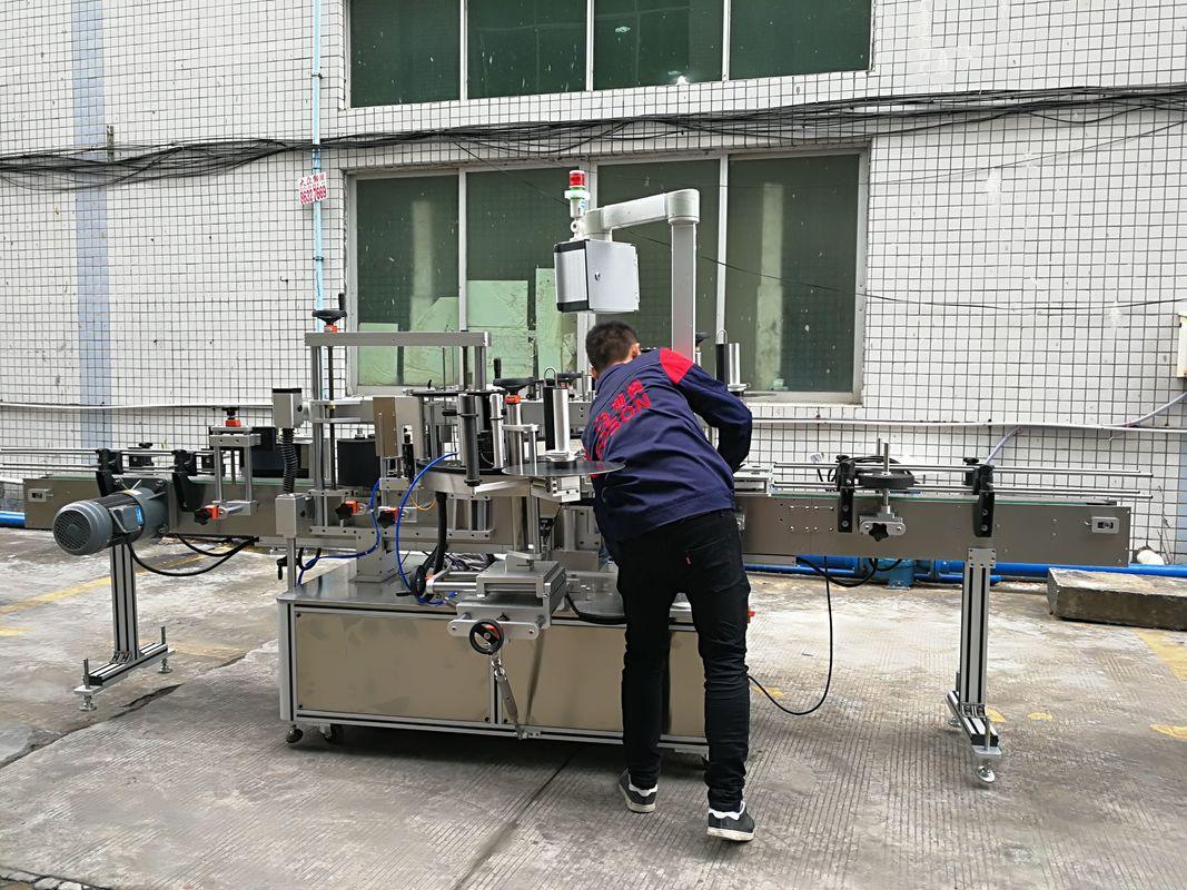 מכונת תיוג בקבוק מים אוטומטית לחלוטין לבקבוק זכוכית / PET