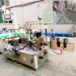 מכונה אוטומטית לתוויות דבק עצמי לשמפו וחומרי ניקוי
