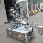 מכונת תיוג עליונה של מדבקה עבור שקיק זרבובית מונעת חשמלית