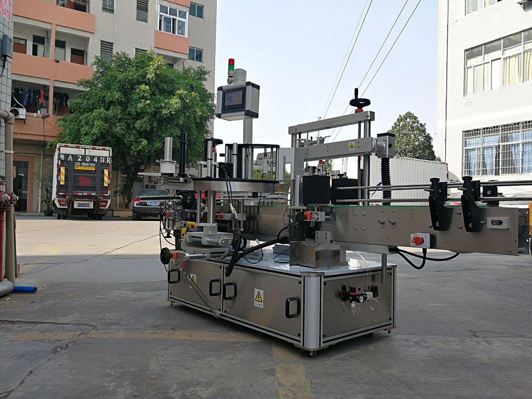 מכונת יישום בקבוקים מרובעת אוטומטית במהירות שלוש צדדיות