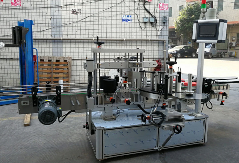 מכונת יישום תוויות אוטומטית מלאה להדבקה לבקבוקים